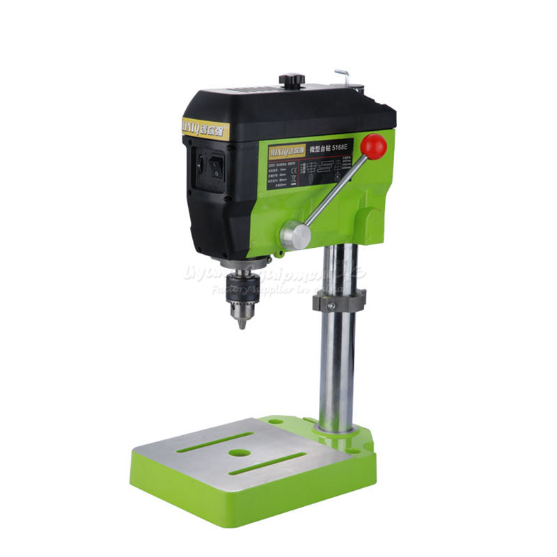 220V Quality Mini Electric Drilling Machine Variable Speed Micro Drill Press Grinder Pearl Drill Machines 5168E 2016 new high quality micro electric hand drill adjustable variable speed with plastic boz