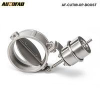 Novo impulso ativado escape recorte/despejo 89mm estilo aberto pressão: cerca de 1 barra AF-CUT89-OP-BOOST