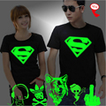 XXXL 3D T-Shirt Men Lovers Luminous Tee Shirt homme Summer Print Tops Man Light Fluorescent Personalized Brand Male Short-sleeve