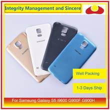 10Pcs/lot For Samsung Galaxy S5 i9600 G900F G900H SM-G900F G900 Housing Battery Door Rear Back Cover Case Chassis Shell(China)