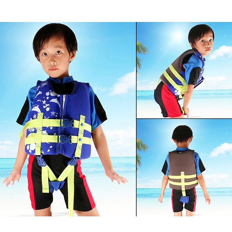 Adjustable Children\'s Life Jacket Buoyancy Suit Men And Women Breathable Jacket Vest Snorkeling Drifting Survival Sportswear
