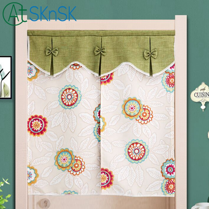 Chino tradicional simple cortinas ventana cenefa decorativa puerta ...