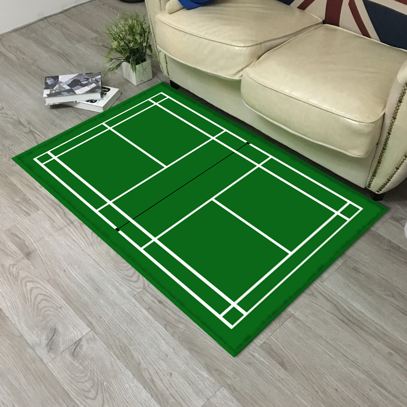 Badminton Courts Tennis Court Floor Mats Sports Lover Entrance