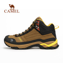 Camel 2016 Hiking Shoes Non-slip Men Wear-resistant Waterproof Hiking shoes Outdoor Climbing Shoes