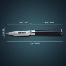 """Huiwill heißer verkauf 67 schichten japanischen vg10 damaskus edelstahl 3,5 """"obst/schäl universalmesser mit geschmiedet g10 griff"""