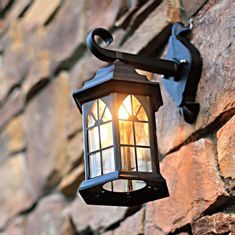 Outdoor Wall Lamps Manufacturers : Aliexpress.com : Buy Europe waterproof outdoor wall light mediterranean foyer lamp industrial ...