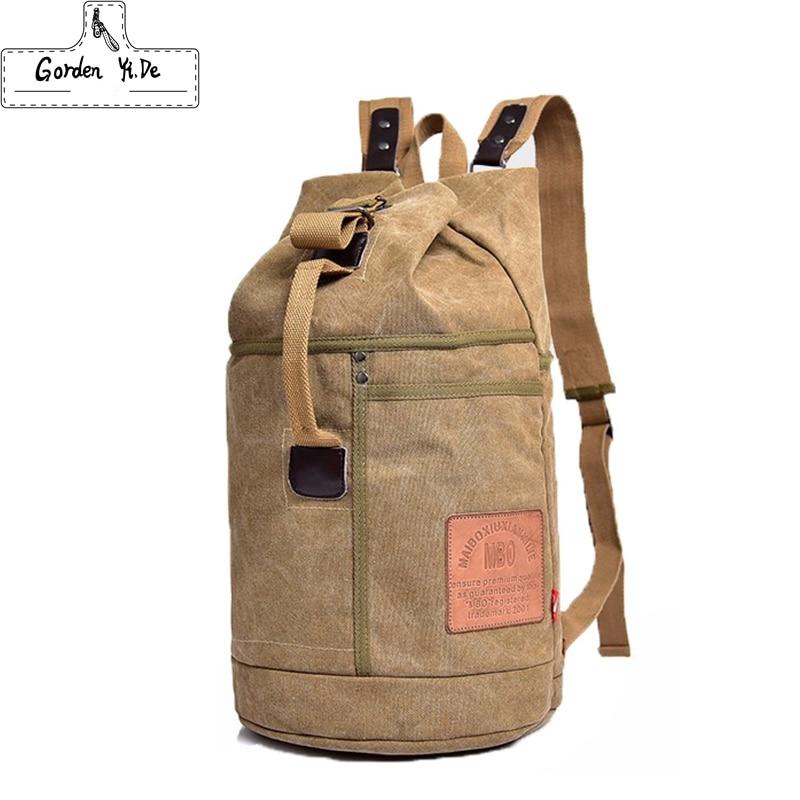 Vintage Canvas Backpacks School Teenagers Boys Girls Large Laptop Backpack Gym Bags