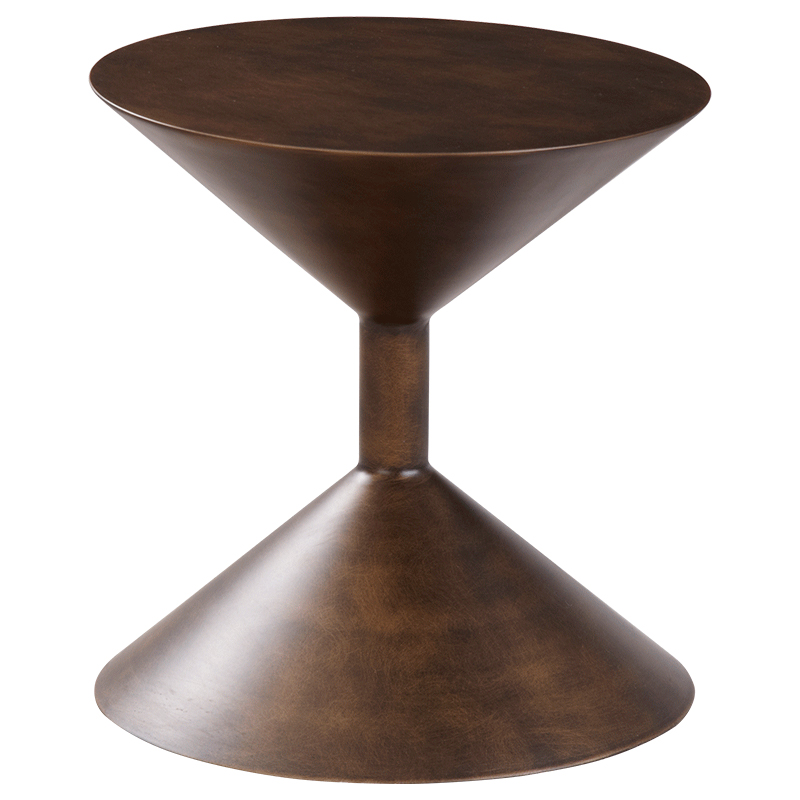 high-end hourglass Scandinavian sofa side table Creative personality furniture modern minimalist round coffee table