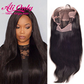 7A Brazilian Virgin Hair Straight Lace Front Wig Full Lace Human Hair Wigs For Black Women Top Brazilian Glueless Full Lace Wigs