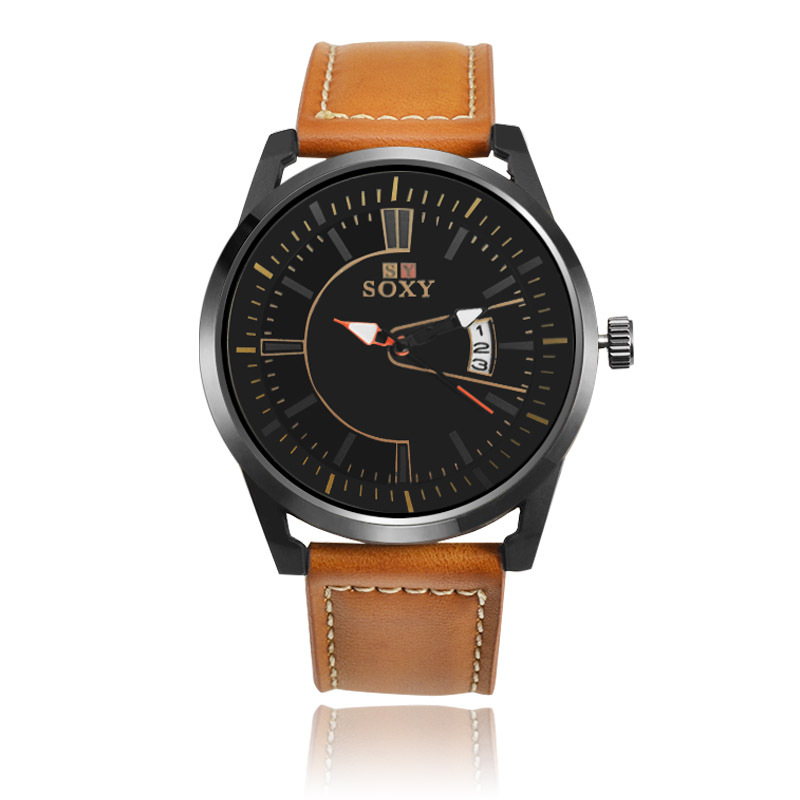 goede kalender quartz horloge Mannen quartz horloge Business Fashion - Herenhorloges - Foto 1