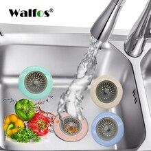 WALFOS Wheat Straw Kitchen Sink Strainer Bathroom Shower Drain Drains Cover sink colander Sewer Hair Filter strainer