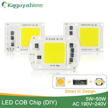 Kaguyahime AC 220V Integrated COB LED Lamp Chip 50W 30W 20W 10W 5W Smart IC Driver High Lumens For DIY Floodlight Spotlight(China)
