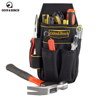 Odin Bosch Professional Multi Pockets Electrician Waist Tool Bag Polyester Waterproof Tool Pouch