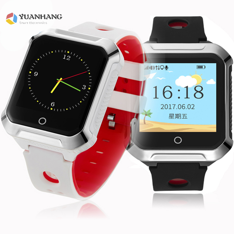 IP67 Waterproof Smart GPS WIFI Tracker Locator Touch Screen Kid Child SOS Call Remote Monitor Alarm Watch Wristwatch PK T58 Q90 цена и фото