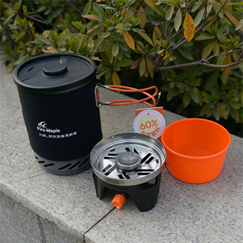 Hot Sale Fire Maple Heating Stove Heat Exchanger Pot Cooking Stove Gas Stove Outdoor Camping Travel Cooking Stove FMS X1-in Outdoor Stoves from Sports & Entertainment    1