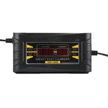 Полный автомат Аренда Батарея Зарядное устройство 110 В до 240 В до 12 В 6A Intelligent Fast Мощность зарядки Мокрый сухой свинцово-кислотная цифровой ЖК-дисплей XNC
