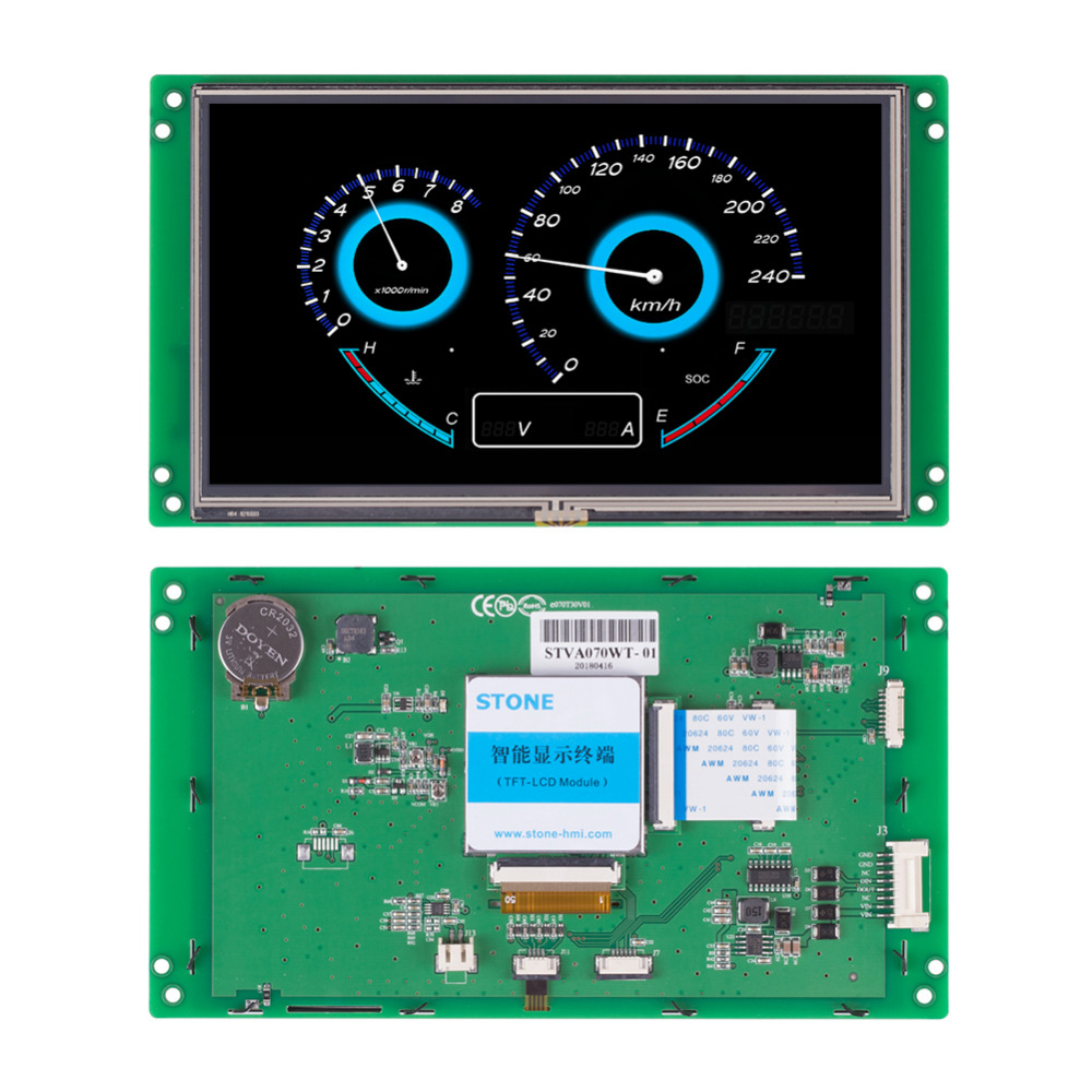 STONE 7.0 TFT LCD With RS232/RS485/TTL InterfaceSTONE 7.0 TFT LCD With RS232/RS485/TTL Interface