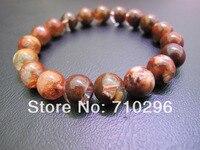 Natural Red Phantom Quartz 10mm Bracelets Gem stone quartz bracelets 5pcs/lot