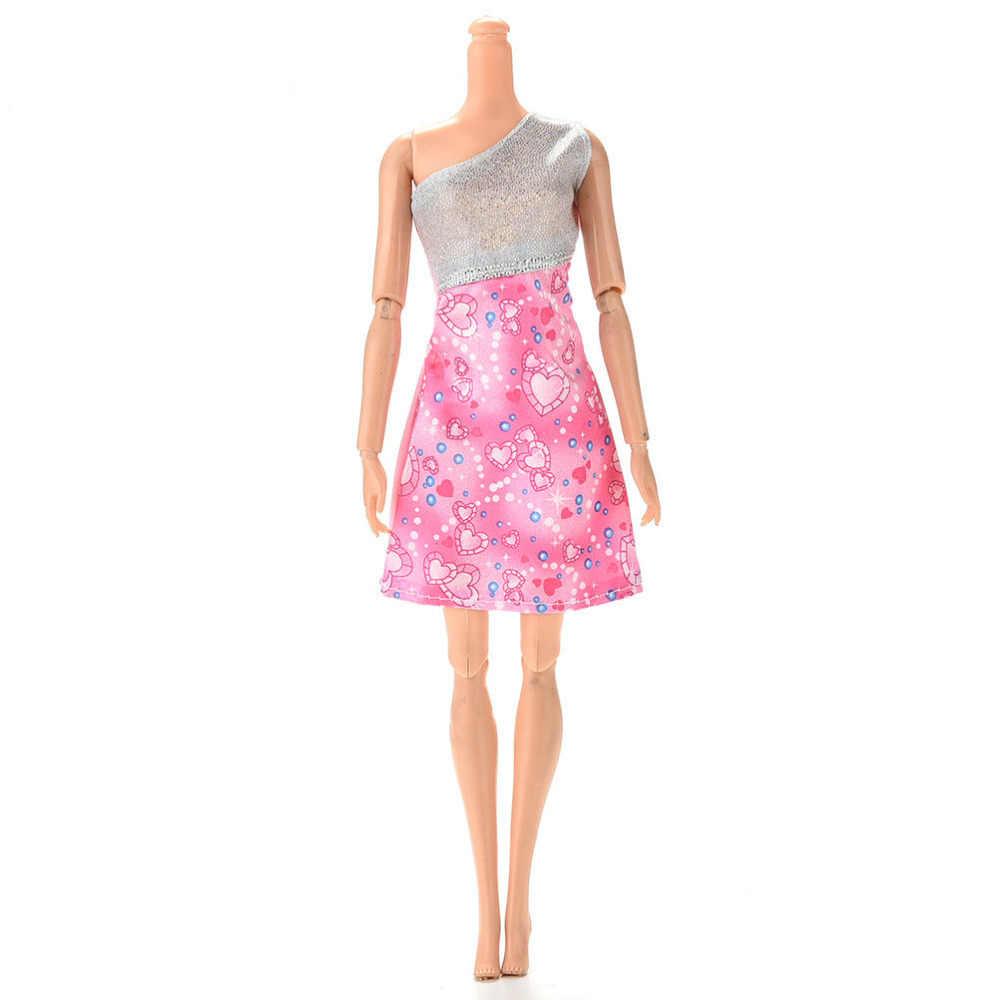 10 Phong Cách Thủ Công Đẹp Mắt Váy Cho Phụ Kiện Búp Bê Quà Tặng Thời Trang Nhiều Màu Sắc Mini Đầm DỰ TIỆC CƯỚI Mặc