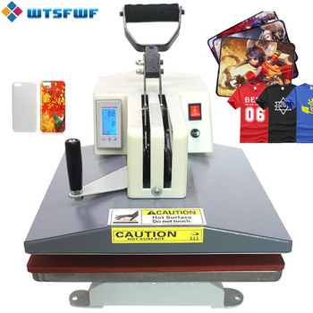 Wtsfwf 38*38 см корейский тепла пресс принтер машина 2D термальность передачи для футболки чехол колодки печати