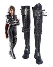 Final Fantasy XV קרואו Altius קוספליי מגפי נעלי אנימה ליל כל הקדושים המפלגה קוספליי מגפי תפור לפי מידה עבור למבוגרים נשים ארוך נעליים