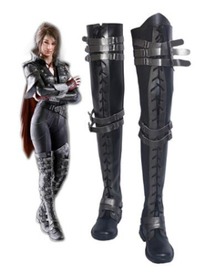 Image 1 - Final Fantasy XV Crowe Altius Cosplay Boots Shoes Anime Halloween Party Cosplay Boots Custom Made for Adult Women Long Shoes