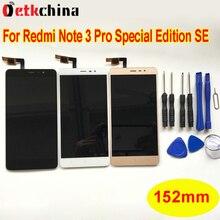 152mm Para Xiaomi Redmi Nota 3 Global Versión Display LCD con Pantalla Táctil Para Redmi Nota 3 Pro de la Edición Especial SE