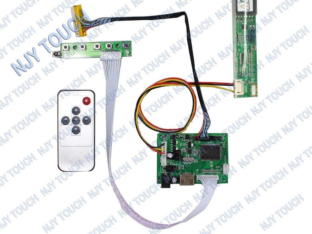 "HDMI+DVI+VGA+Audio LCD Screen Driver Inverter Kit for 15.4/"" LTN154AT01 1280X800"