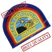 """3.9"""" USCSS NOSTROMO Crew Shirt Patch ALIEN ALIENS Uniform Patch TV Series rockabilly applique iron on patch for clothes"""