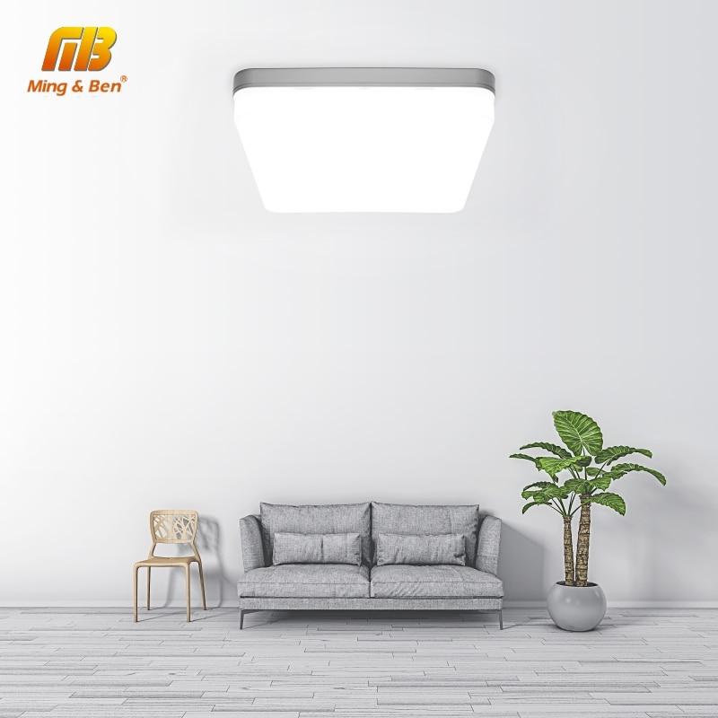 Ultra Thin LED Ceiling Lamp LED Modern Panel Light 48W 36W 24W 18W 9W 6W 85-265V Bedroom Kitchen Surface Mount Flush Panel Light 2