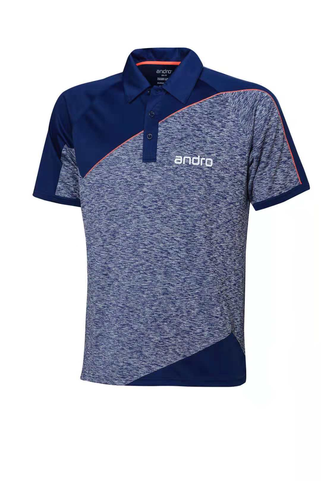 US $31.09 10% OFF|Andro Table Tennis Clothes For Men And Women Clothing T shirt Short Sleeved Shirt Ping Pong Jersey Sport Jerseys in Table Tennis