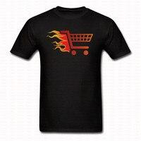 Drôle Feu Panier T-shirt Hip Hop Rue Styles Hommes Femmes à Manches courtes O Cou Chemises Marque Vêtements Top Casual Tee T-shirt