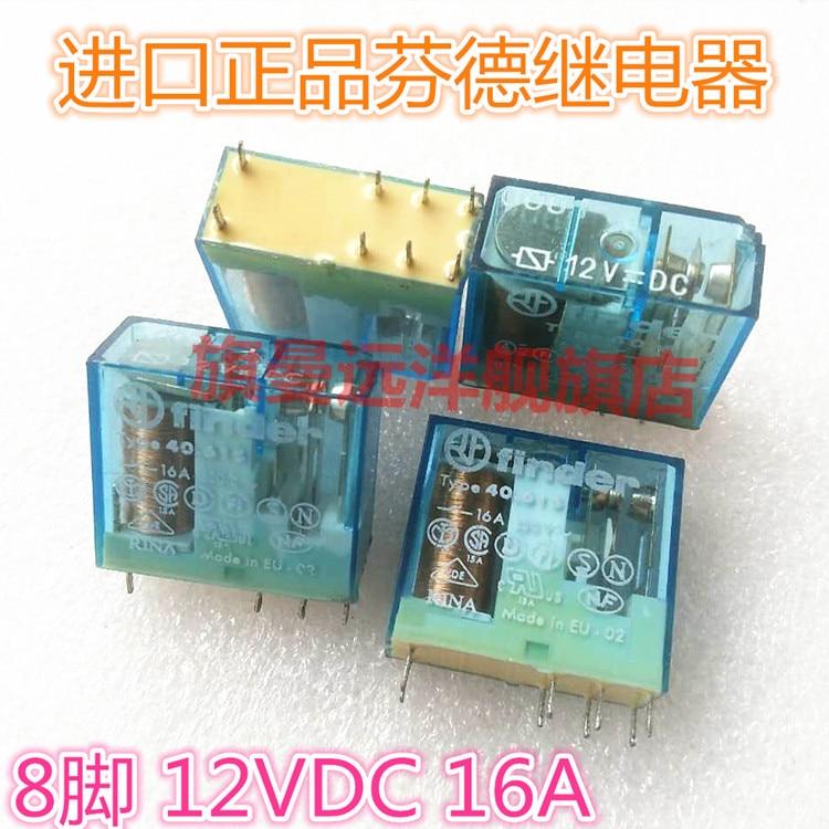 Type40.61S 12VDC  TYPE40.61 8-pin 12V 16A DC12v