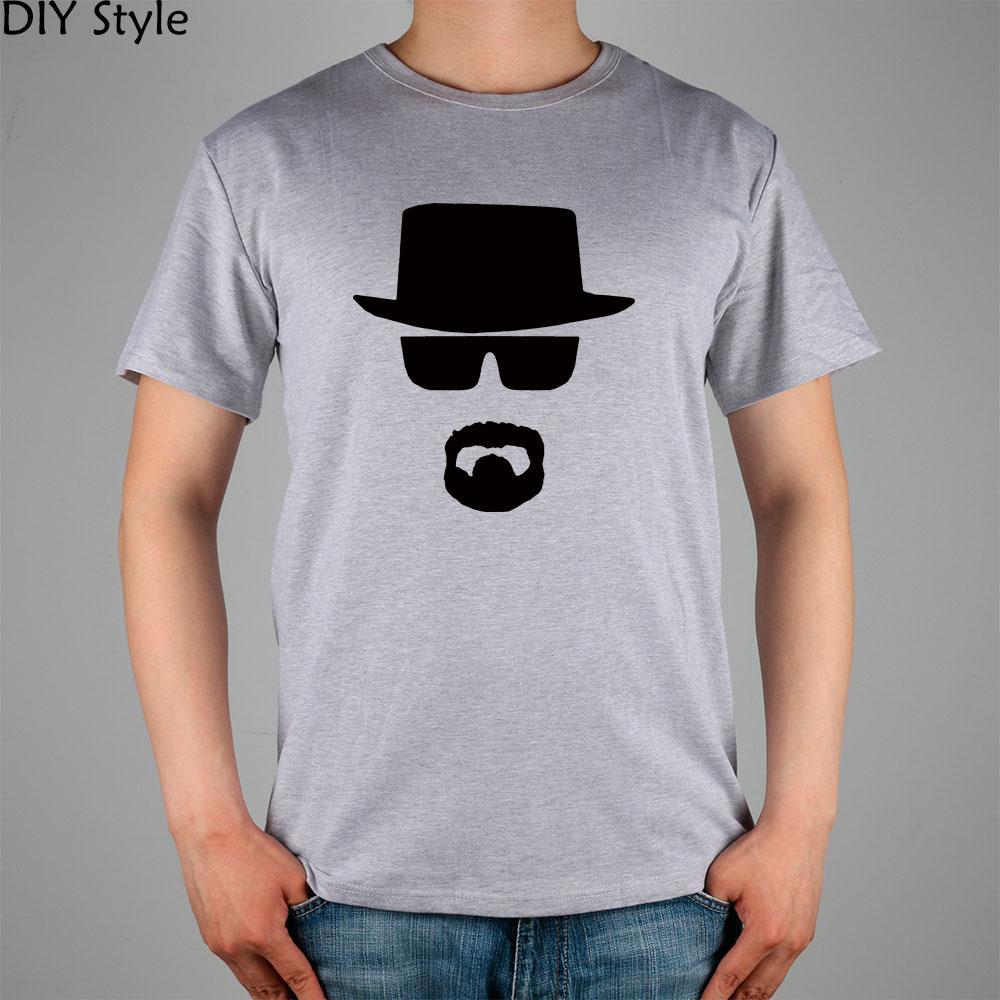№Breaking Bad Sol y sombrero negro bigote camiseta impresionante ...