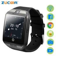 ZUCOOR Smart Uhr GPS Relogio männer frauen Uhren Touch-handys ZW95 Android Elektronische Fitness Wasserdicht Reloj Inteligente