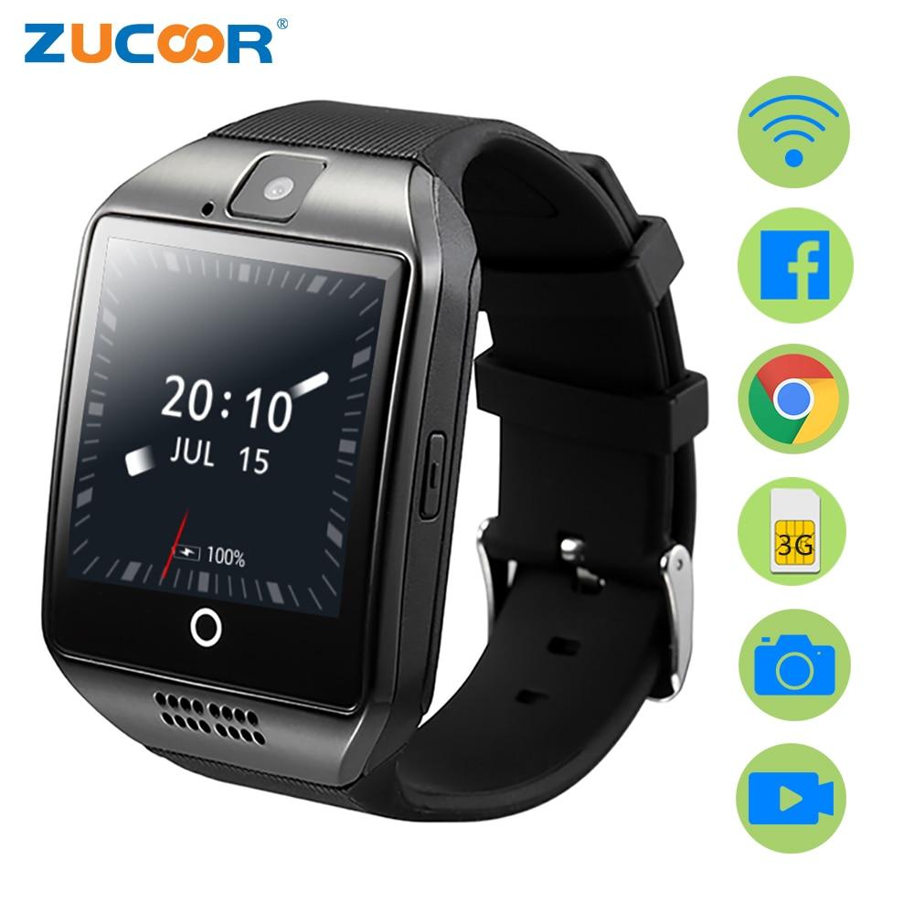 ZUCOOR Smart Watch GPS Relogio Men's Women's Watches Touch Phones ZW95 Android Electronic Fitness Waterproof Reloj Inteligente smart baby watch q60s детские часы с gps голубые