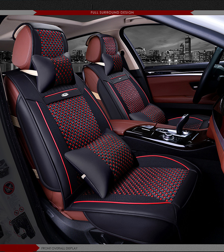 best quality full set car seat covers for new hyundai. Black Bedroom Furniture Sets. Home Design Ideas