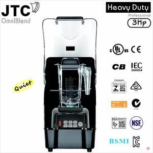 Blender--Shield JTC 1 NO Model:Tm-800aq No.-1-Quality Omni-Q In-The-World Black 100%Guaranteed
