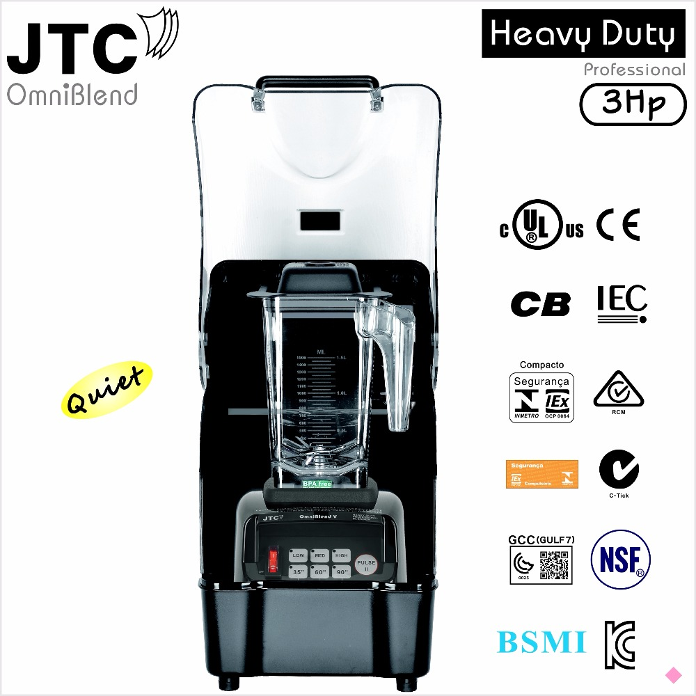 JTC Omni-Q (Blender+shield), Model:TM-800AQ, Black, FREE SHIPPING, 100% GUARANTEED NO. 1 QUALITY IN THE WORLD