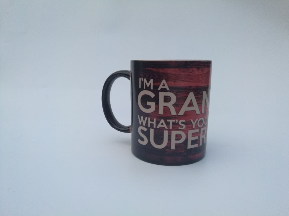 I Am A Grandpa Mugswhats Your Superpower Dad Birthday Gifts Mugs Home Decal Heat Reveal Magic Coffee Mug Changing Color