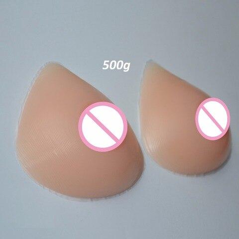 1 pares Formas Mam rios de Silicone Realista Artificial Boobs Busto Enhancer Para Trangsgender Mastectomia