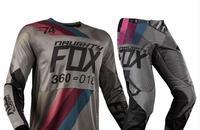Naughty Fox Mx 2018 360 Draftr Charcoal Adults Motocross Dirt Bike Gear Set Mens Jersey Pant Combo