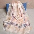102217 22 цвета 180x65 см 2016 Новые женщин Мода Шелковый Шарф, мода Шарф, женская Шелковый шарф, прямоугольник Шарф