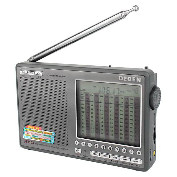 Hot Sale DEGEN DE1103 DSP Radio FM SW MW (5)