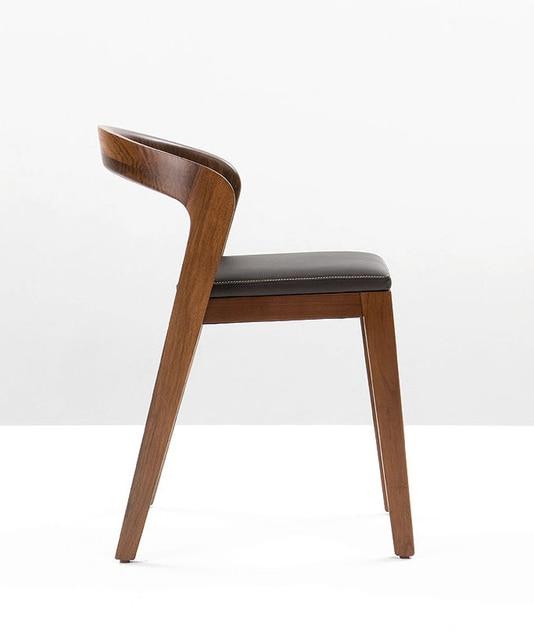 Ikea Dining Chair Sports Folding Chairs Nordic Ash Wood Minimalist Designer Furniture Restaurant Cafe Hotel Seat