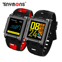 Tinymons S929 GPS Spor Akıllı Bant Saat Pusula Su Geçirmez Yüzme akıllı saat nabız monitörü Renkli Ekran akıllı bilezik|Akıllı Bileklikler|   -
