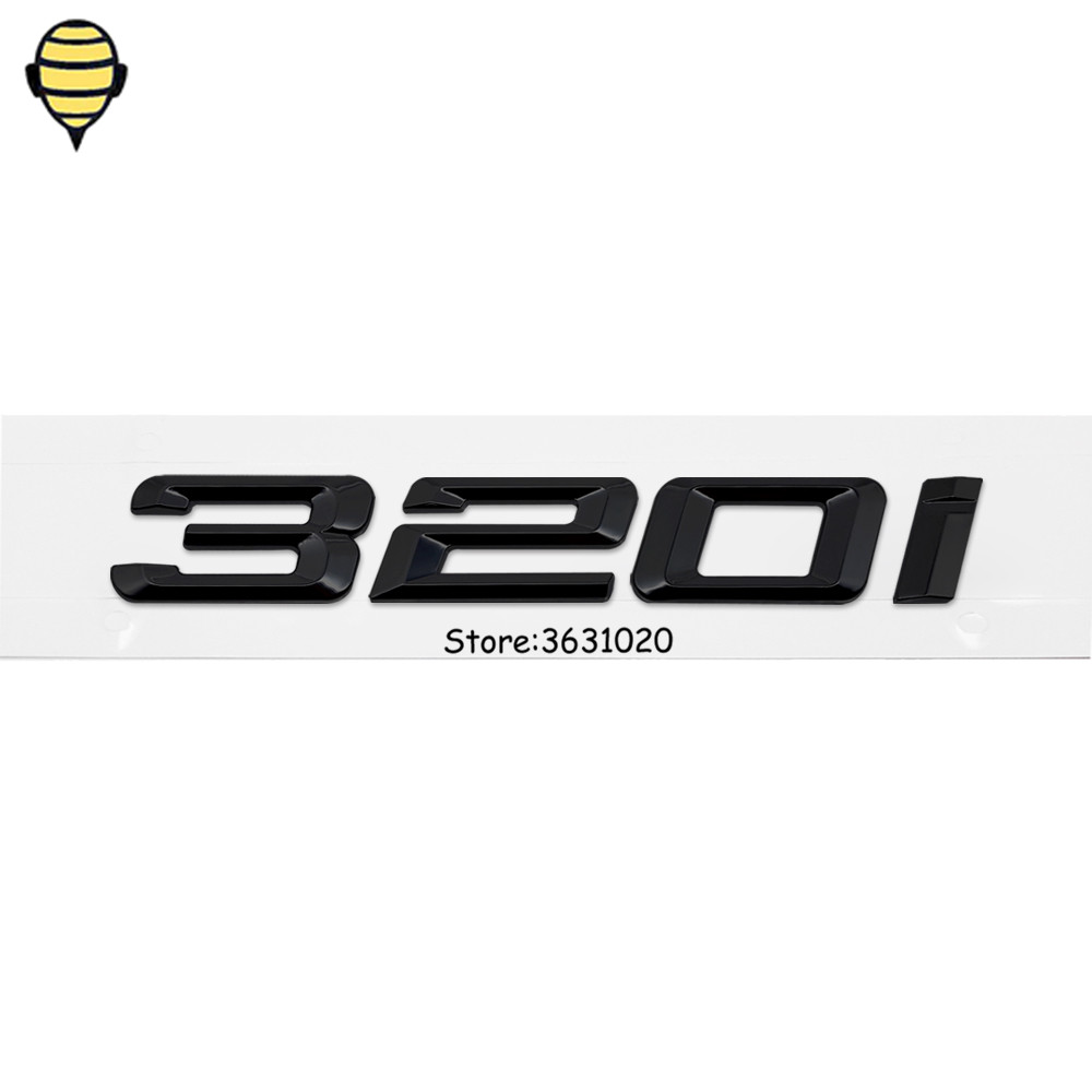New 325i Trunk Lid Rear Emblems Badge Auto Car Letter Decal Sticker BMW 3-Series
