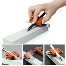 HQ HS03 стальной сплав регулируемый угол нож долото лезвие края точилка держатель быстрая точилка с углеродистой стали Pully
