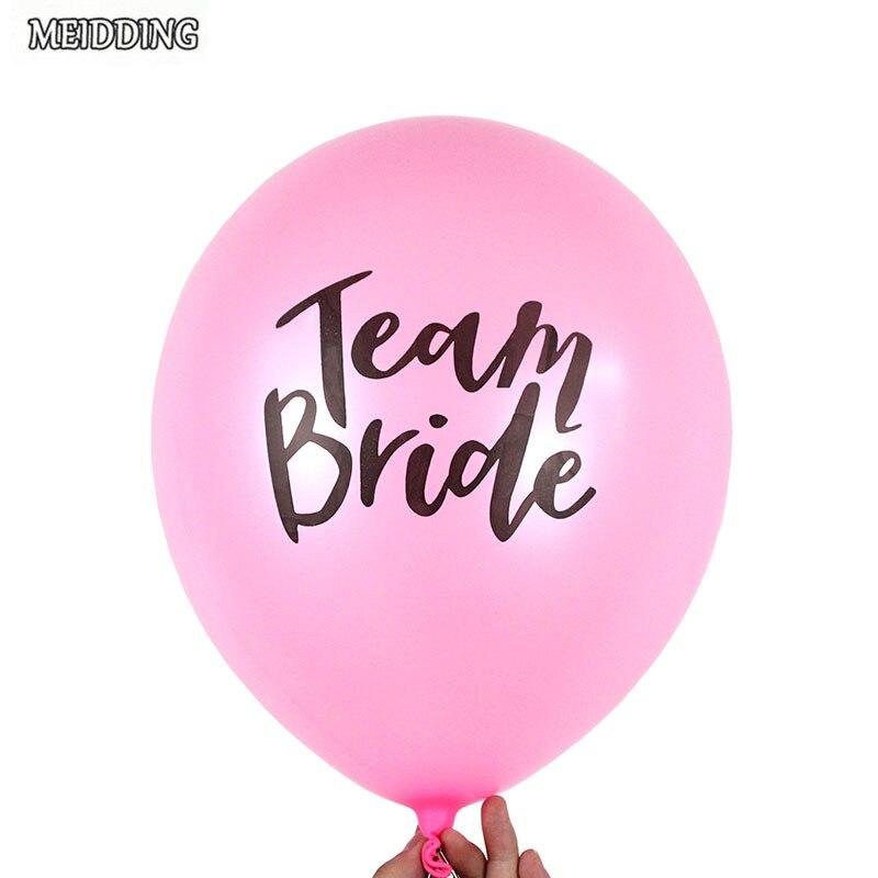 MEIDDING 10pcs/lot EQUIPO de 12 pulgadas globo de látex para la boda ...