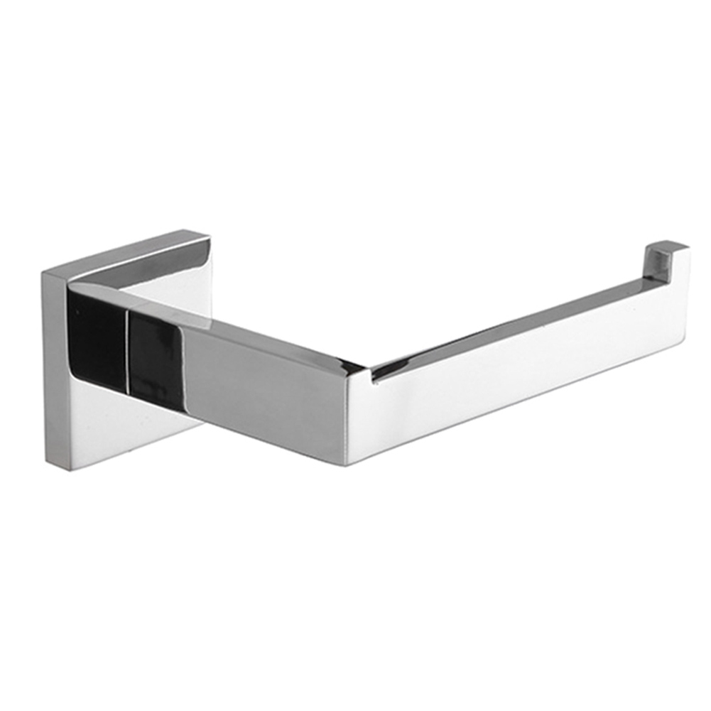 Comprar Acero inoxidable estante de papel moderno cuarto de baño accesorios de pared cuadrado papel higiénico titular papel LB88 de Soportes para papel fiable proveedores en LBFamily Store